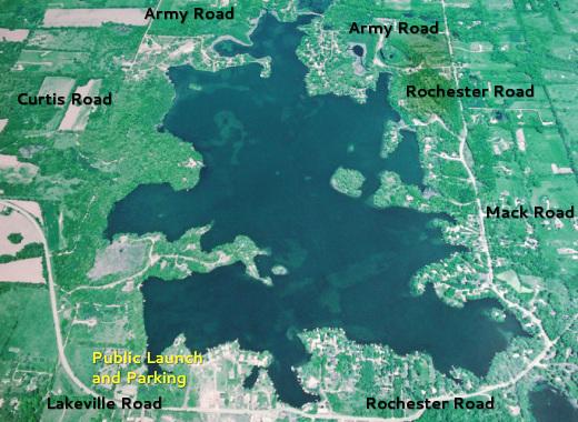 Addison Michigan Map.Lakevillelake Org Home